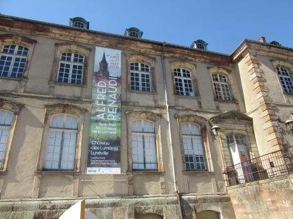 Château de Lunéville - exposition Renaudin